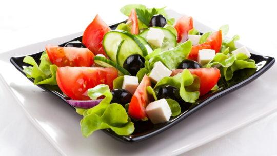 Греческий салат низкокалорийный