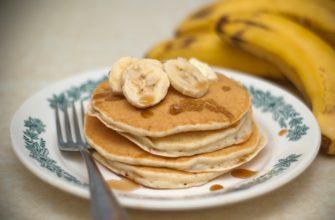 Банановые блинчики (Панкейки), рецепт с фото, список ингредиентов