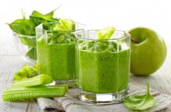 Ингредиенты рецепта Смузи с яблоком