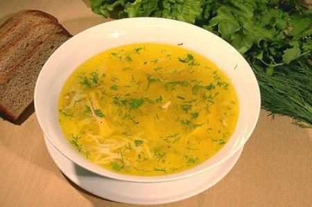 Способ приготовления рецепта «Куриный суп с овощами»