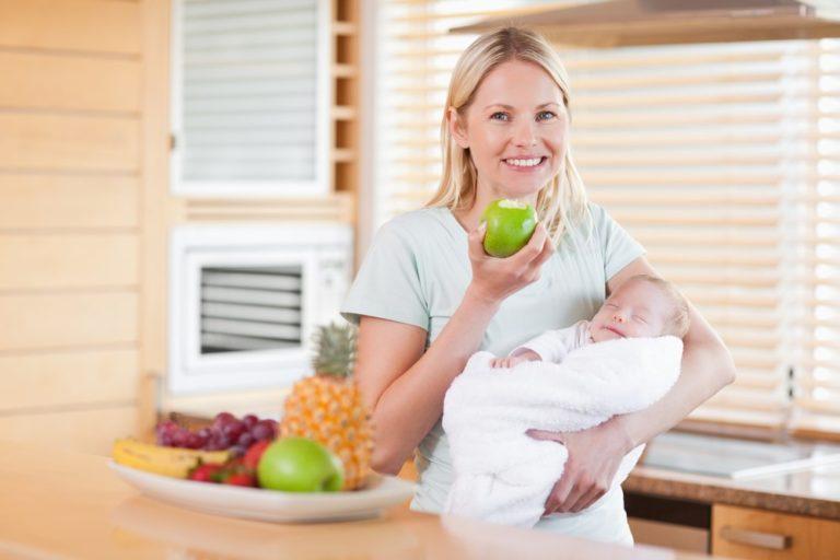 Как питаться кормящей матери чтобы похудеть